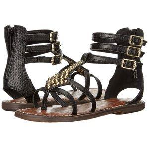 Studded Sam Edelman gladiator sandals